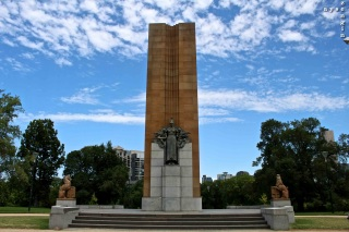 War Memorial at the Botanic Gardens
