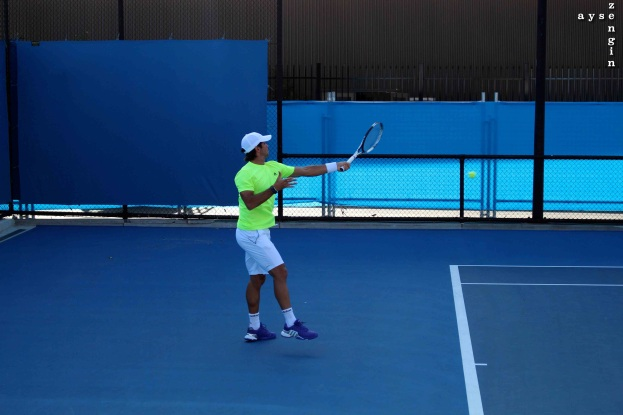 Verdaso warming up
