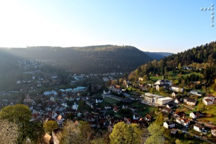 Bad Liebenzell by day